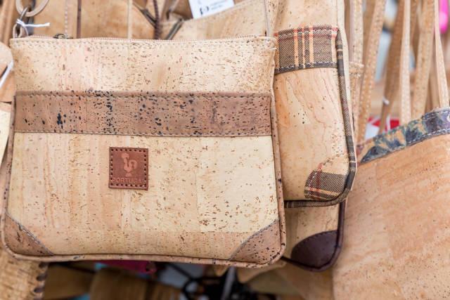 Handtaschen aus Kork aus Portugal