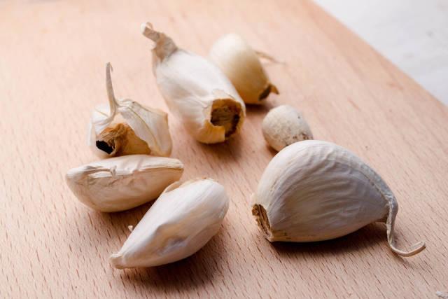 Close Up of garlic