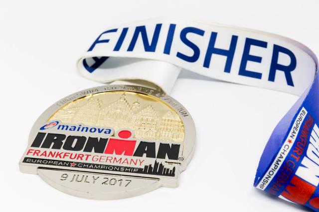 Finisher-Medaille Ironman Frankfurt 2017