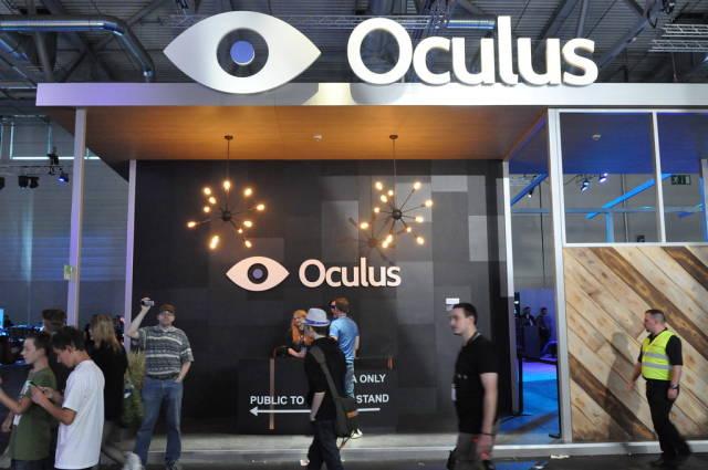 Oculus Rift @ Gamescom 2014