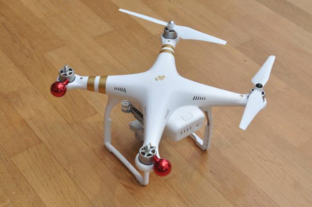 Drohne statt Adventskranz