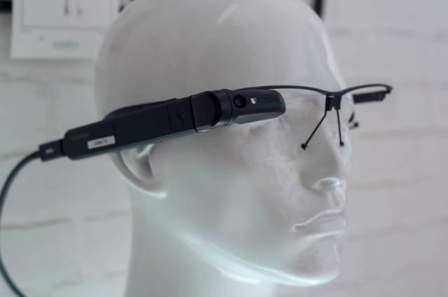 Toshiba dynaEdge AR Smart Glasses at IFA Berlin 2018