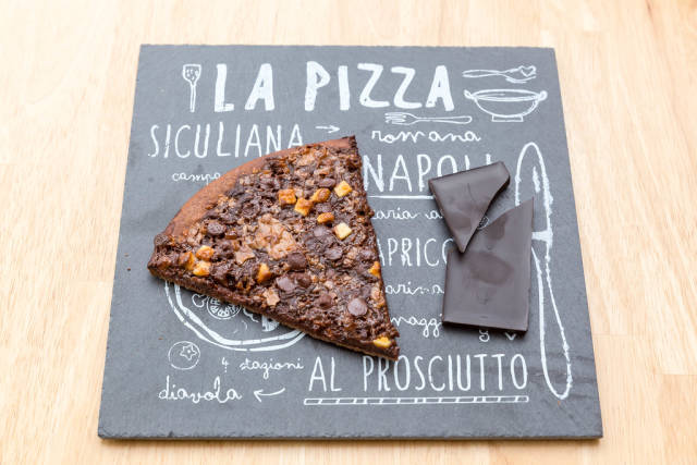 Crazy German Chocolate Pizza