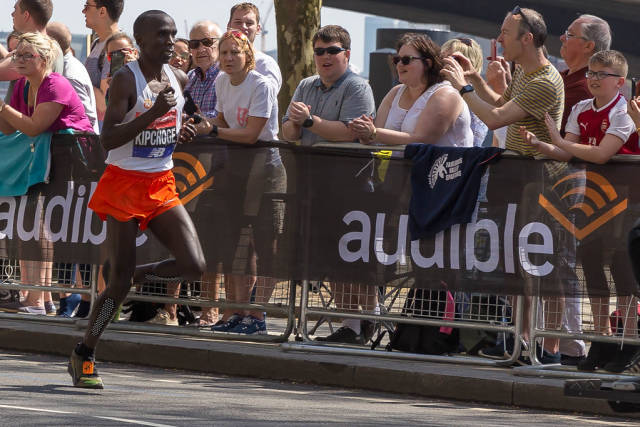 Eliud Kipchoge (London Marathon 2018)
