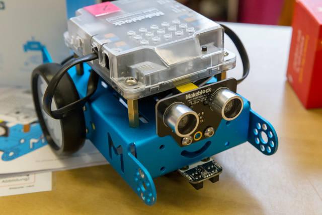 mBot Roboter zum selber bauen auf dem Digital Education Day 2018 in Köln