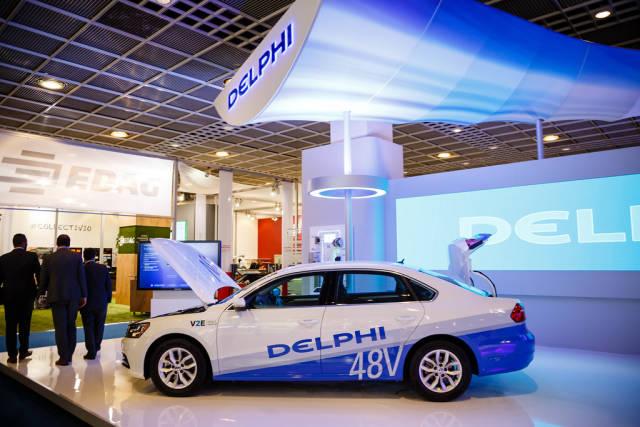 Delphi Platform für automatisiertes Fahren bei der IAA 2017