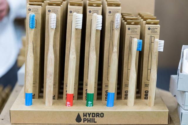 Bambus-Zahnbürste von Hydrophil