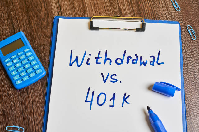 Choice - Taking a 401k loan or withdrawal