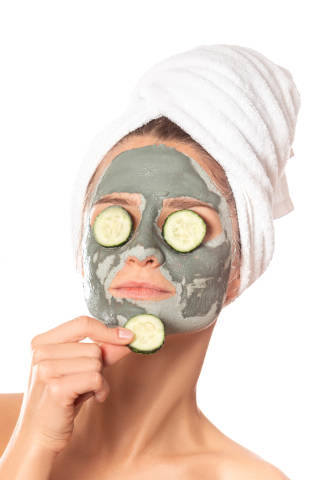 Facial skin care and cosmetic procedures concept