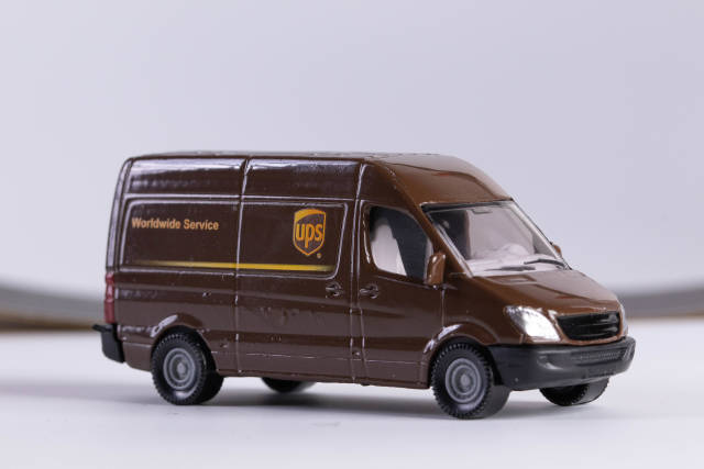 UPS sign Delivery Truck