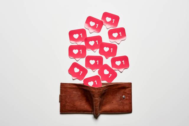 Full wallet of Insta likes