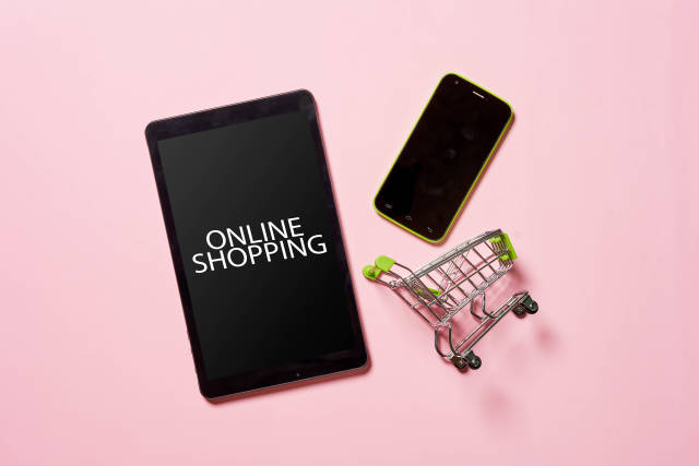 Buying tablet and smartphone online