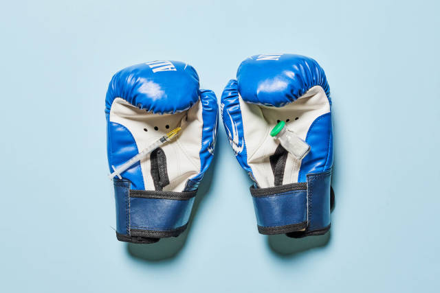Doping cases in boxing