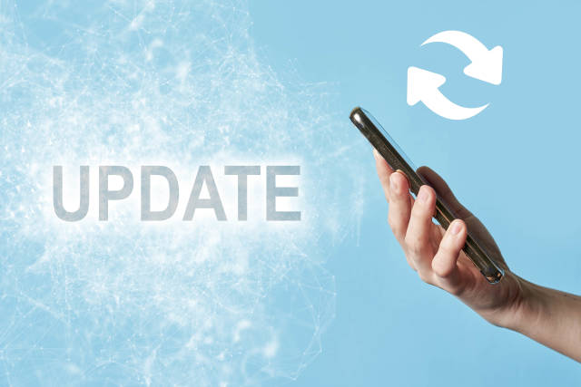 Update smartphone operation system and software