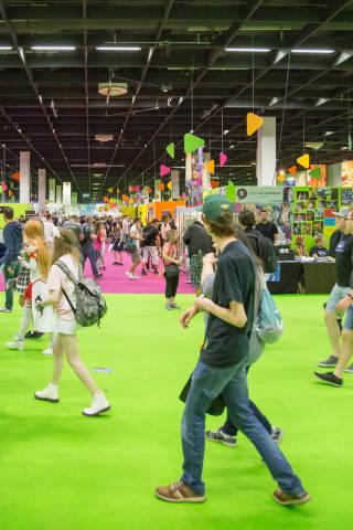 Besucher der Gamescom 2017