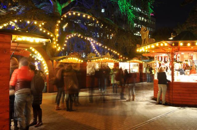 Weihnachtsmarkt Stadtgarten