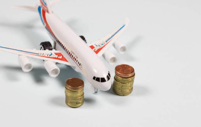 Holiday saving money concept