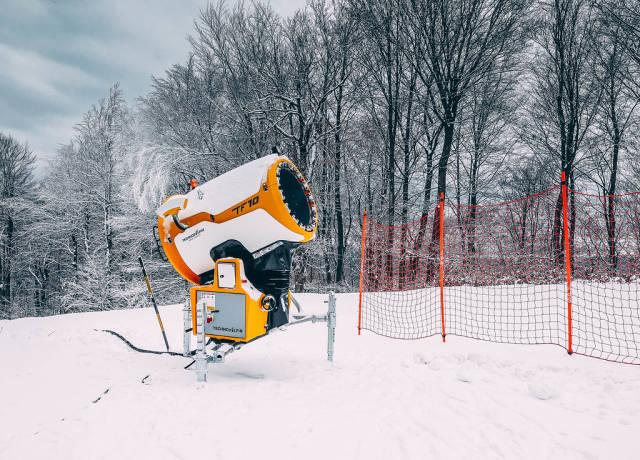 Snow cannon at Pohorje Ski Resort