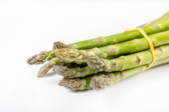 Closeup of Fresh Green Asparagus