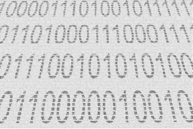 Binary numbers texture