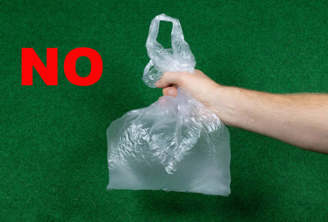 Dont use plastic bags
