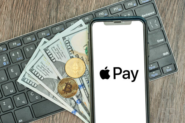 Purchasing crypto using apple pay