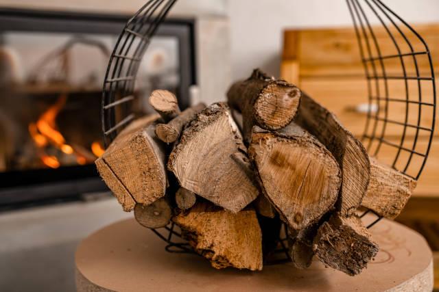 Round Billet Wood Batch Indoors
