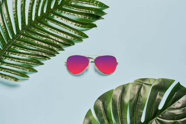 Bright summer concept