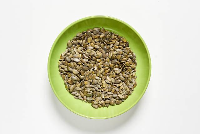Healthy pumpkin seeds