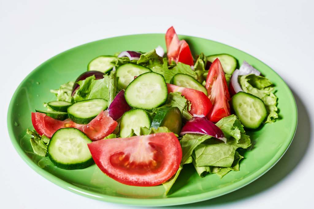 Healthy salad for dieting