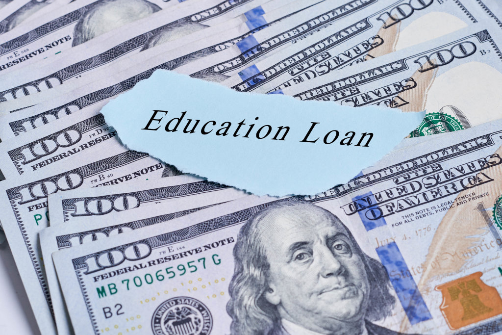 Education loans concept
