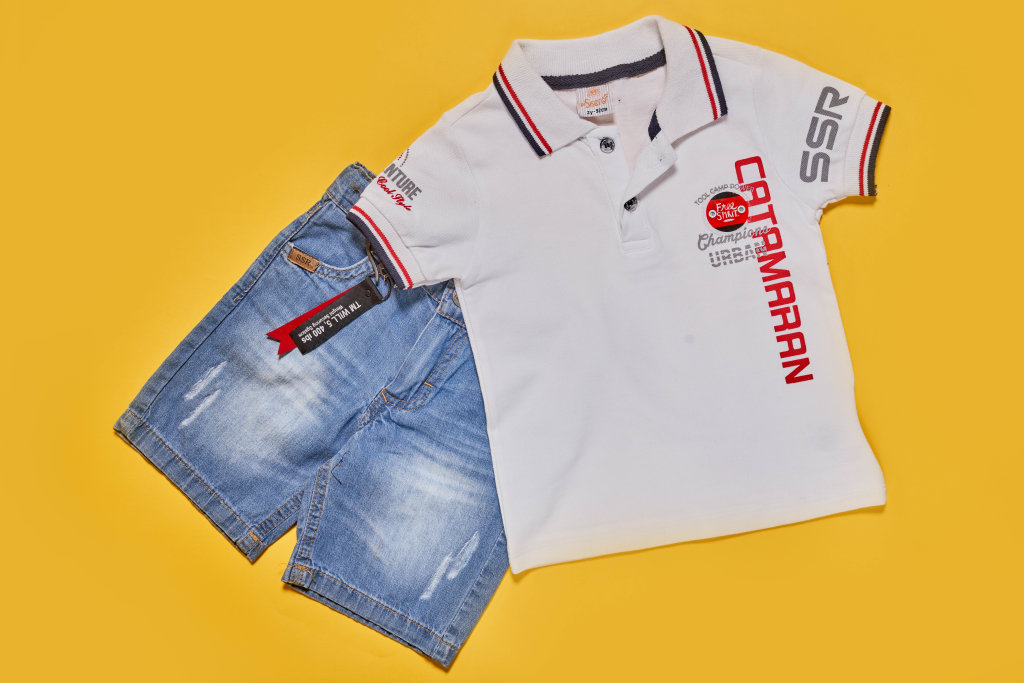 Stylish summer clothing set for 2 years-old baby boys