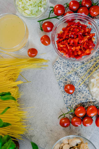 Chicken  Spagetti Recipe With Tomatoes