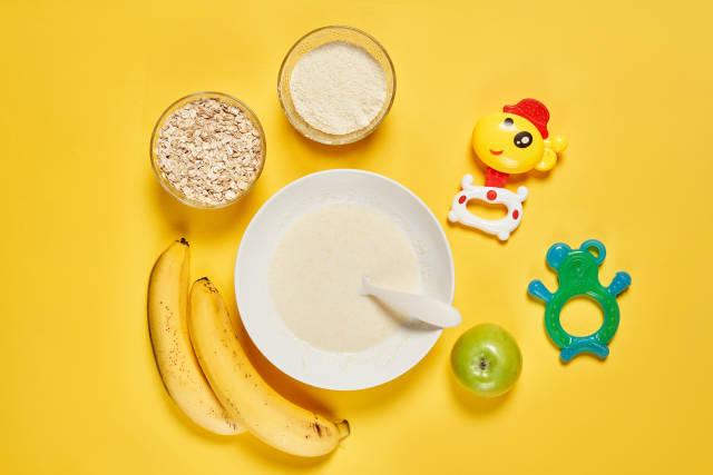 Instant baby maize porridge - nutritious quick and convenient meal