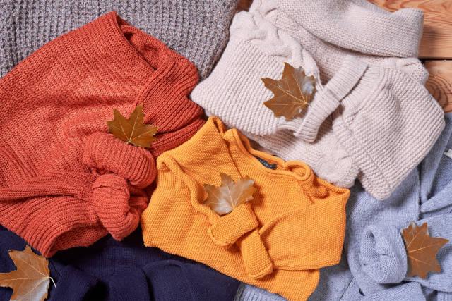 Herbstliche Pullover
