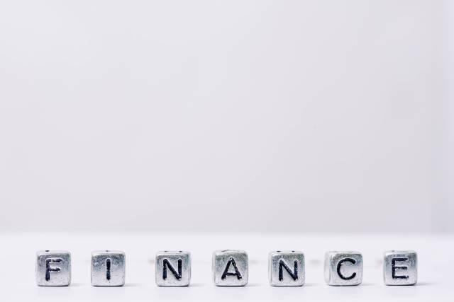 Finance word - Finanzen