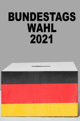 Bundestagswahl 2021 Wahlurne