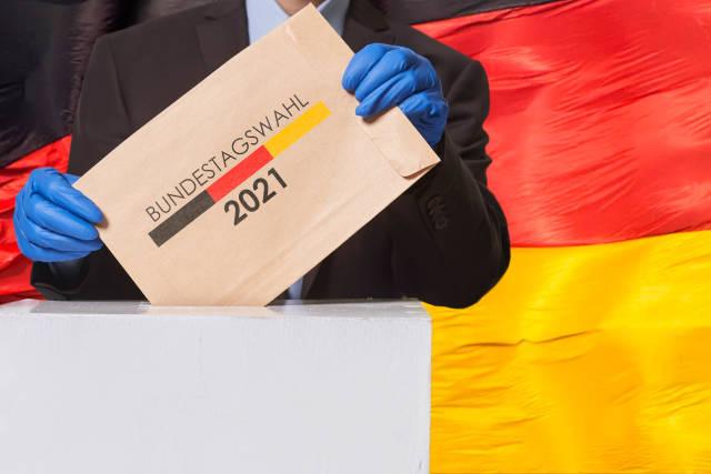Bundestagswahl 2021 Wahlumschlag